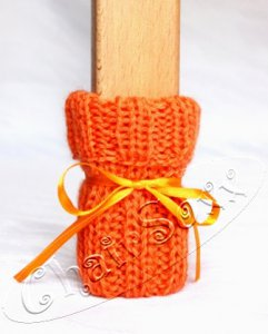Stuhlsocken Orange